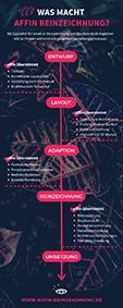 affin Reinzeichnung Infografik Leistungen