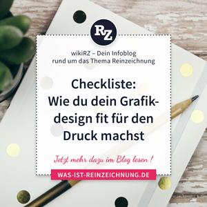 wikiRZ Checkliste Druckspezifikationen